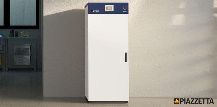 Il Gruppo Piazzetta caldaia a pellet CP-32 Thermo Caldaia Classe Energetica A+