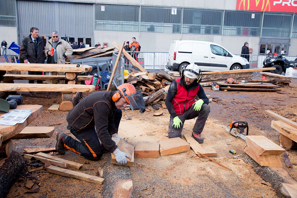 La seconda lavorazione della legna